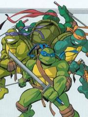 忍者神龟03版动画官方资料设定书