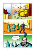 皇帝与大臣漫画